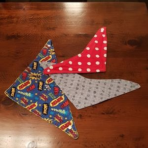 Other - 2/$20 🌻 Bandana bibs lot